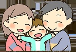 [画像]笑顔の家族